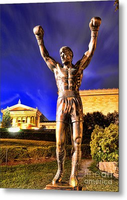 Rocky Metal Print by Paul Ward
