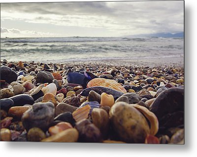 Metal Print featuring the photograph Rocky Shore by April Reppucci