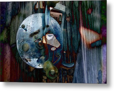 Rod And Reel Metal Print