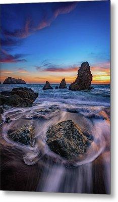Rodeo Beach Sunset Metal Print by Rick Berk