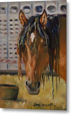 Rodeo Horse Metal Print