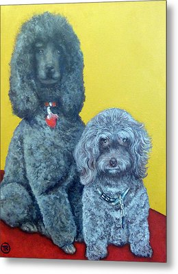 Roger And Bella Metal Print by Tom Roderick