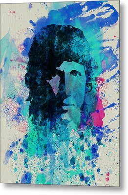 Roger Waters Metal Print by Naxart Studio