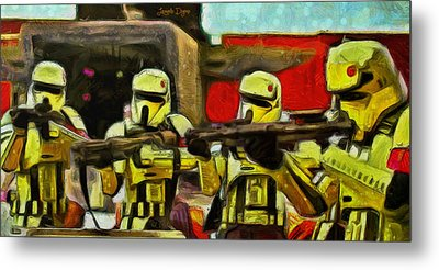 Rogue One Arrested - Da Metal Print
