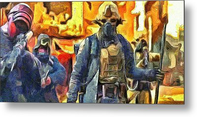 Rogue One Ready To Fight - Pa Metal Print