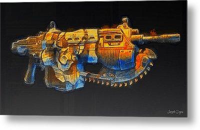 Rogue One The Cutting Edge Weapon - Da Metal Print by Leonardo Digenio