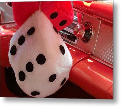 Roll Of The Dice Metal Print by Richard Mansfield
