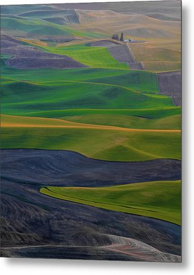 Rolling Fields Of The Palouse Metal Print by James Hammond