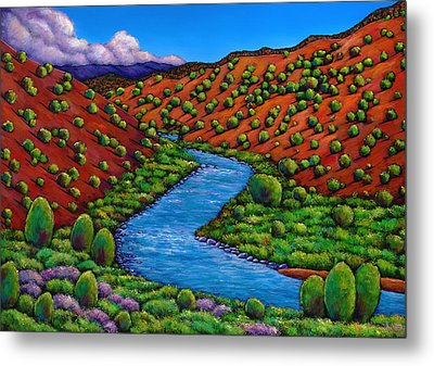 Rolling Rio Grande Metal Print by Johnathan Harris