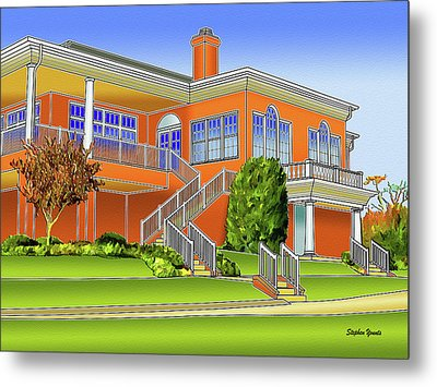 Rolling Road Golf Club Metal Print by Stephen Younts