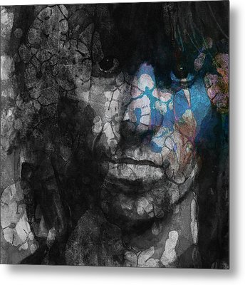 Rolling Stoned Metal Print by Paul Lovering