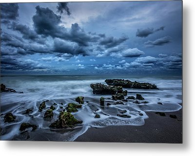 Metal Print featuring the photograph Rolling Thunder by Debra and Dave Vanderlaan