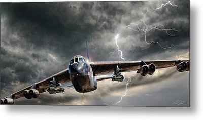 Rolling Thunder V2 Metal Print by Peter Chilelli
