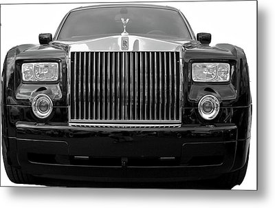 Rolls Royce Metal Print by Michael Albright