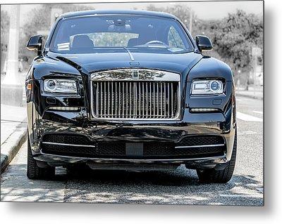 Rolls - Royce Wraith Coupe 2016 Metal Print
