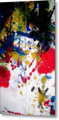 Romak Abstract Metal Print