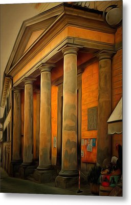 Church Of Santa Maria Maddalena Metal Print