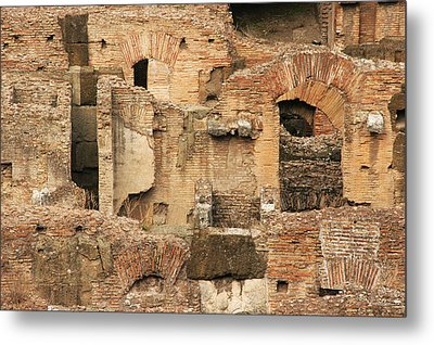 Metal Print featuring the photograph Roman Colosseum by Silvia Bruno