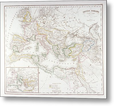 Roman Empire At The Time Of Augustus Metal Print by Fototeca Storica Nazionale