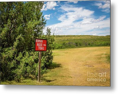 Roman Nose Trail Metal Print
