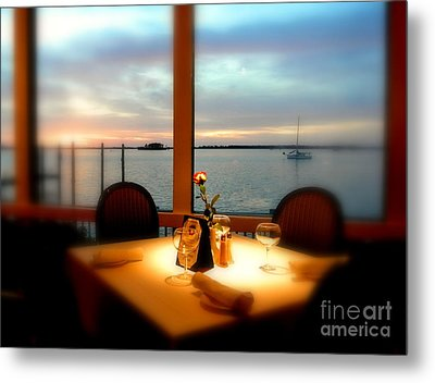 Metal Print featuring the photograph Romance by Elfriede Fulda