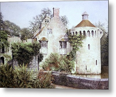 Romance In Ruin Metal Print by Rosemary Colyer