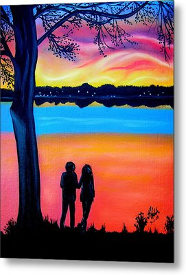 Romance On The Bay Metal Print