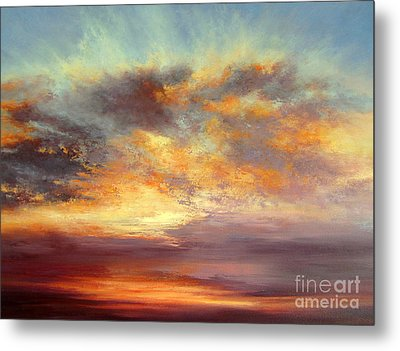 Romance Metal Print by Valerie Travers