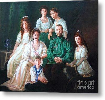 Romanov Family Portrait Metal Print by George Alexander