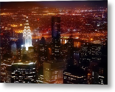 Romantic Skyline Metal Print by Az Jackson
