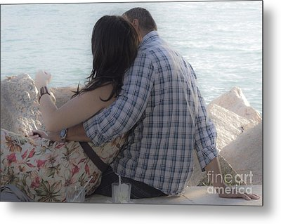 Romantic Whispers Metal Print