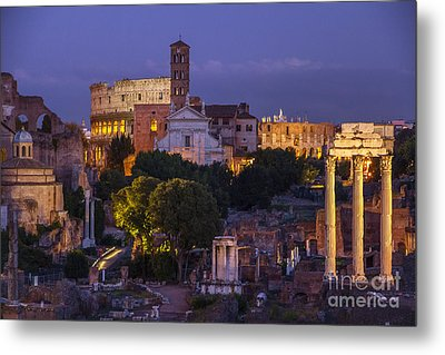 Metal Print featuring the photograph Rome by Spencer Baugh