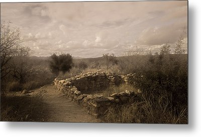 Romero Ruin Metal Print by Joseph Smith