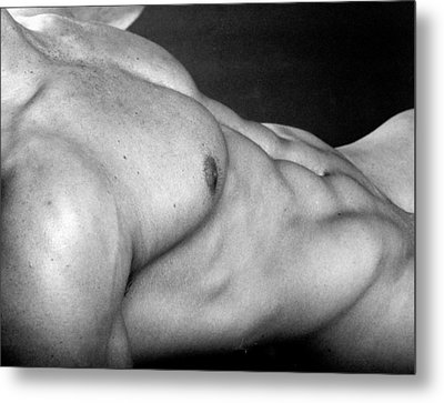 Ronan Torso Metal Print by Thomas Mitchell