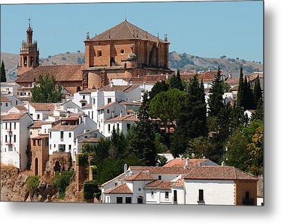 Ronda. Andalusia. Spain Metal Print by Jenny Rainbow