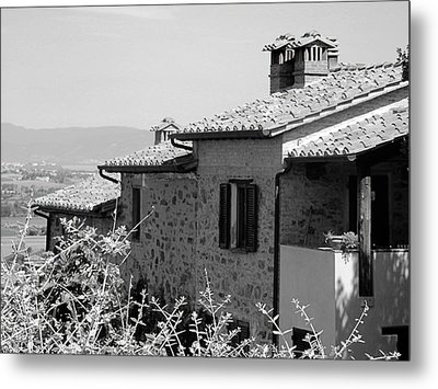Roofs With A View Metal Print