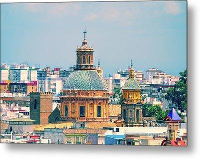 Rooftops Of Seville - 1 Metal Print