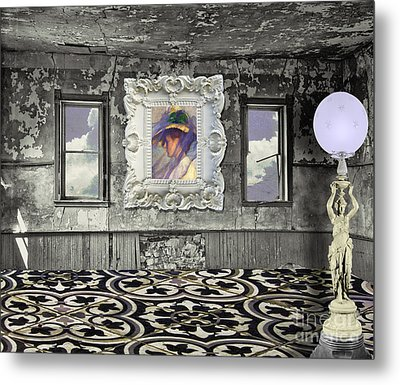 Room In The Sky Metal Print by Mindy Sommers