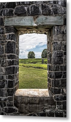 Room With A View Metal Print by Edward Fielding