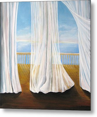 Room With A View Metal Print by Eileen Kasprick