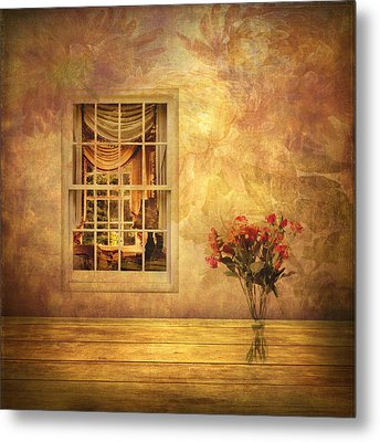Room With A View Metal Print by Jessica Jenney