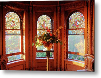 Metal Print featuring the photograph Room With A View by Kristin Elmquist