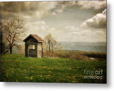 Room With A View Metal Print by Lois Bryan