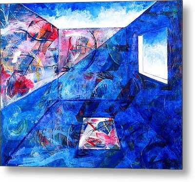 Room With A View Metal Print by Rollin Kocsis