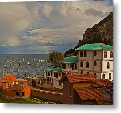 Room With A View Metal Print by Ron Dubin
