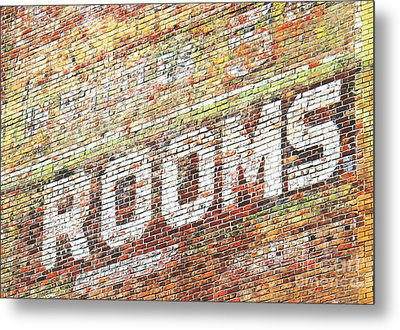 Metal Print featuring the photograph Rooms by Ethna Gillespie