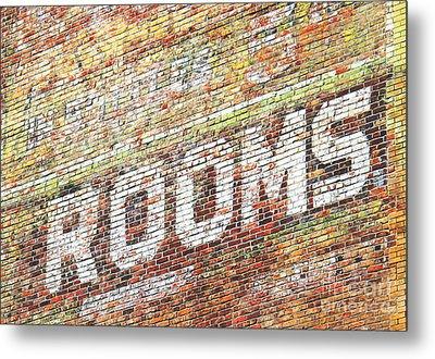 Rooms Metal Print by Ethna Gillespie