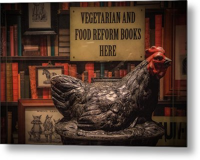 Metal Print featuring the photograph Rooster by Tim Nichols