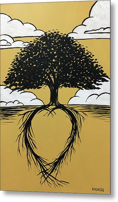 Rooted In Love Metal Print by Nathan Rhoads