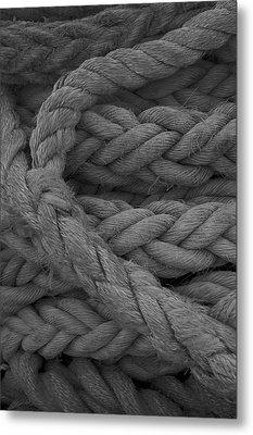 Rope I Metal Print